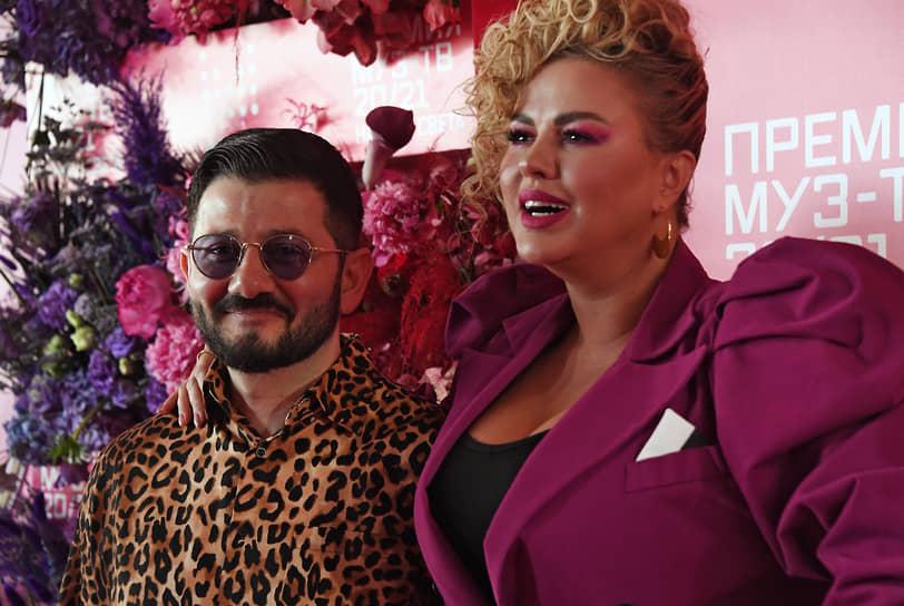Шоумен Михаил Галустян и певица Анна Семенович