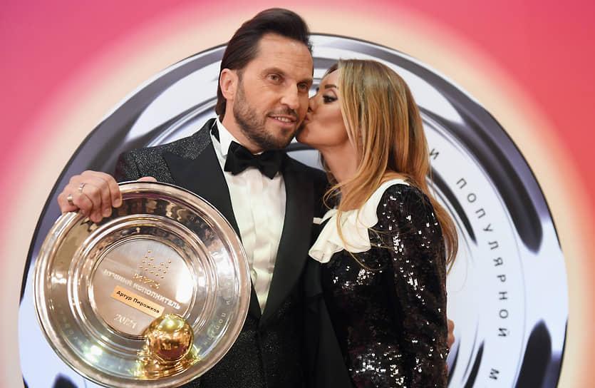 Шоумен Александр Ревва (Артур Пирожков), ставший победителем в номинации «Лучший исполнитель»