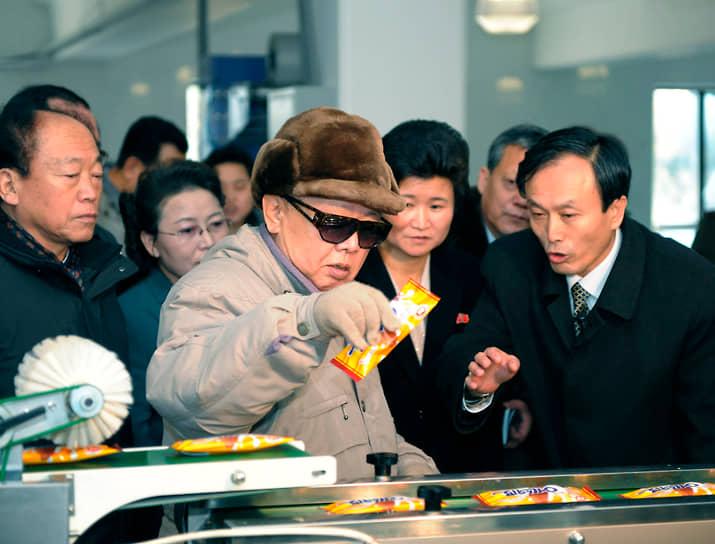 Северокорейский лидер Ким Чен Ир, 2010 год