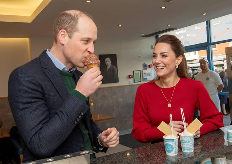 Принц Уильям и герцогиня Кэмбриджская Кейт Миддлтон, 2020 год
