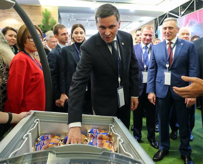 Министр природных ресурсов и экологии России Дмитрий Кобылкин, 2019 год