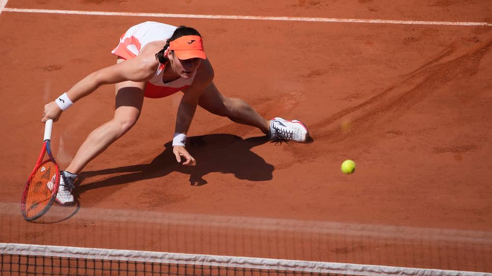 Словенская теннисистка Тамара Зиданшек