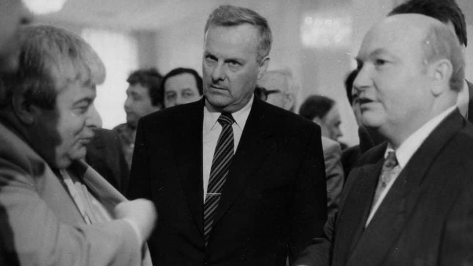 12 июня 1991-го стало днем победы не только Бориса Ельцина на президентских выборах, но и Анатолия Собчака (слева) — на выборах мэра Ленинграда. Юрий Лужков (справа) стал вице-мэром столицы