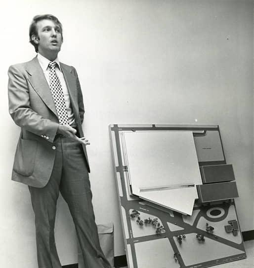 Сделал карьеру в строительном бизнесе. С 1968 года работал в компании отца Trump Enterprises. В 1975 году стал ее президентом и изменил название на Trump Organization