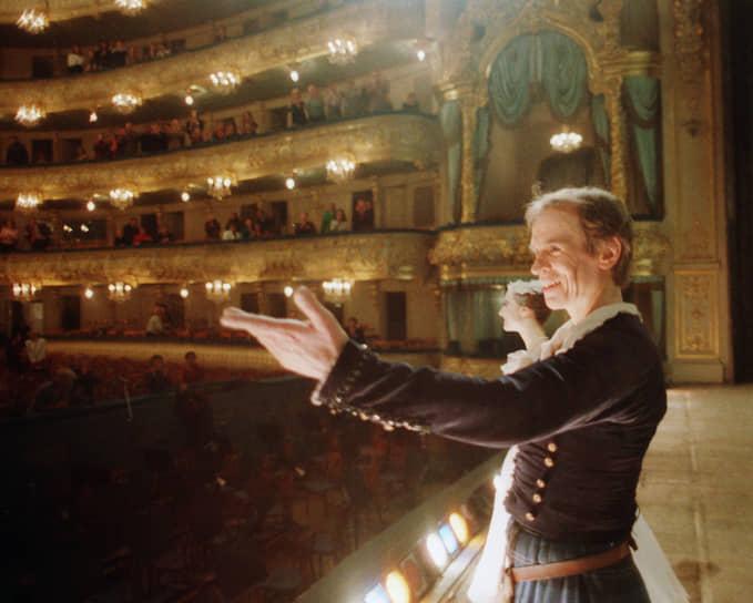 Осенью 1992 года на сцене Гранд-Опера Рудольф Нуреев поставил балет «Баядерка». Последнее представление «Баядерки» с его участием состоялось 8 октября 1992 года