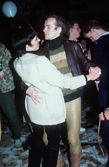 Лайза Миннелли и Рудольф Нуреев танцуют в Studio 54 в Нью-Йорке, 1979 год