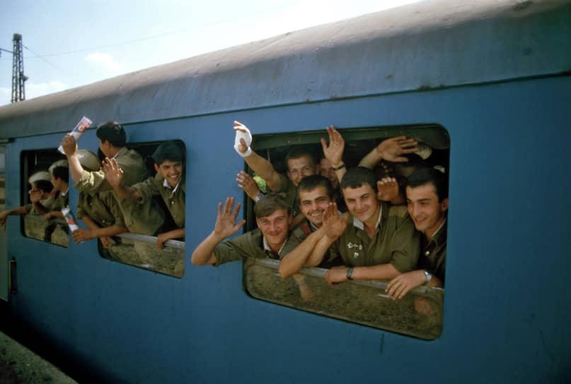 Вывод Южной группы войск из Венгрии занял 26 месяцев — с апреля 1989-го по июнь 1991 года