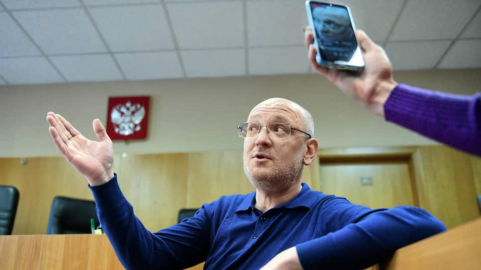 Депутат заксобрания Санкт-Петербурга Максим Резник