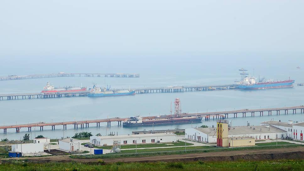 Территория компании «Таманьнефтегаз»