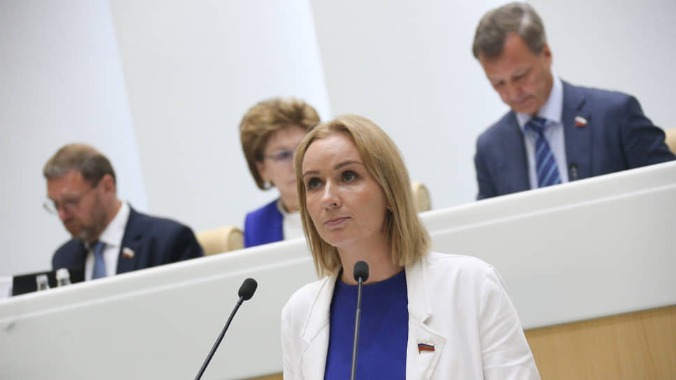 Сенатор от Пензенской области Мария Львова-Белова