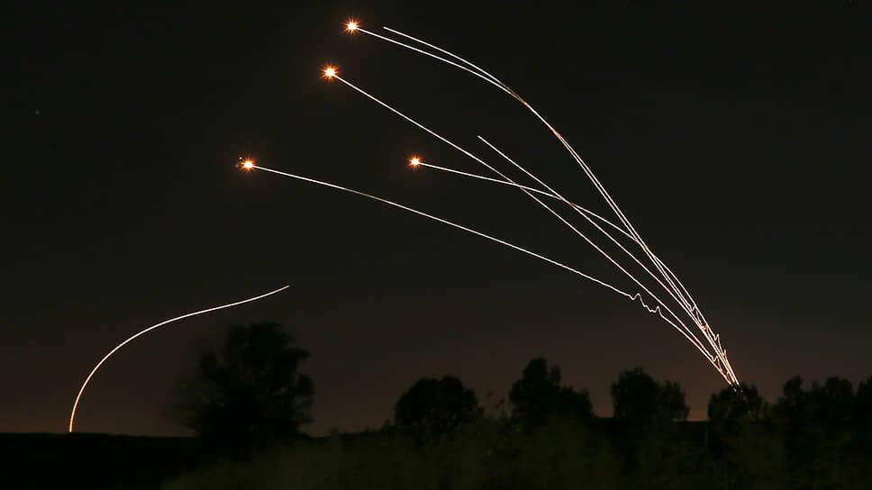 Израильская система противоракетной обороны «Железный купол» за 10 лет смогла перехватить около 2,5 тыс. ракет