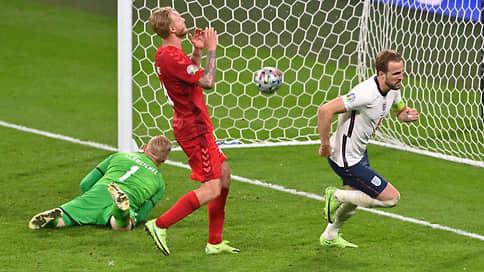 Сборная Англии дождалась финала