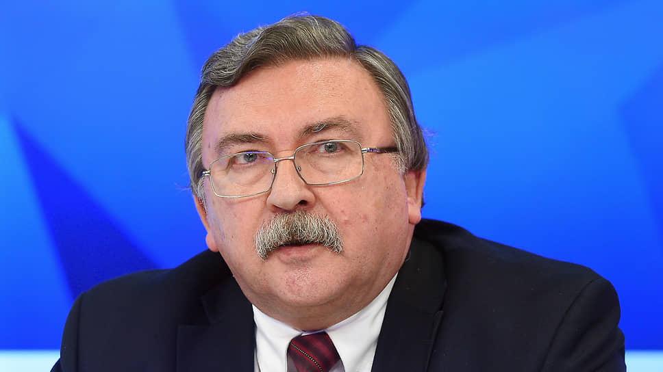 Постпред России в Вене Михаил Ульянов