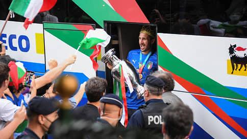 Кубок Евро-2020 приехал в Рим