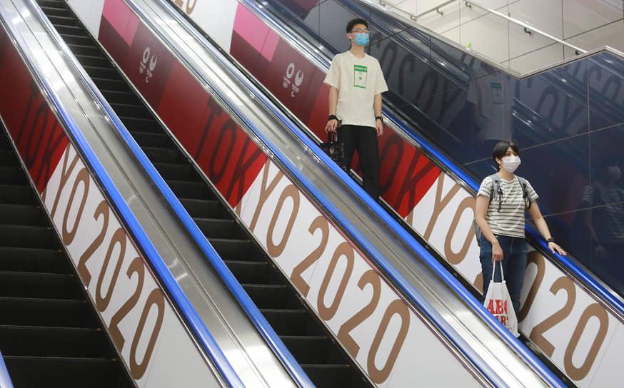Ситуация, как считают японские власти, ухудшилась из-за распространения штамма «дельта»