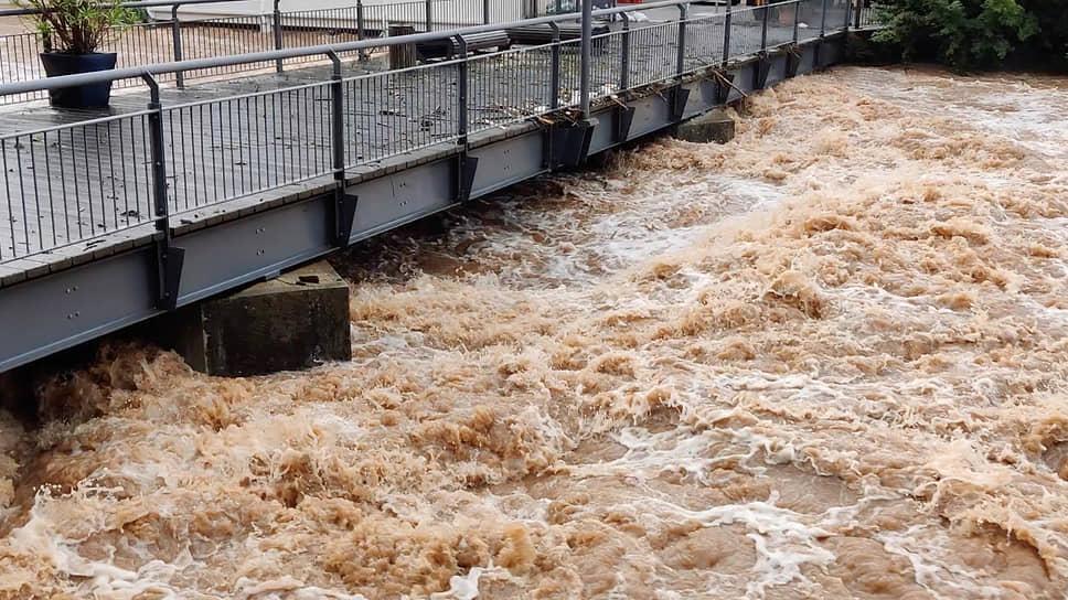 Наводнение затронуло такие страны, как Германия (на фото), Нидерланды, Бельгия, Люксембург, Франция и Швейцария