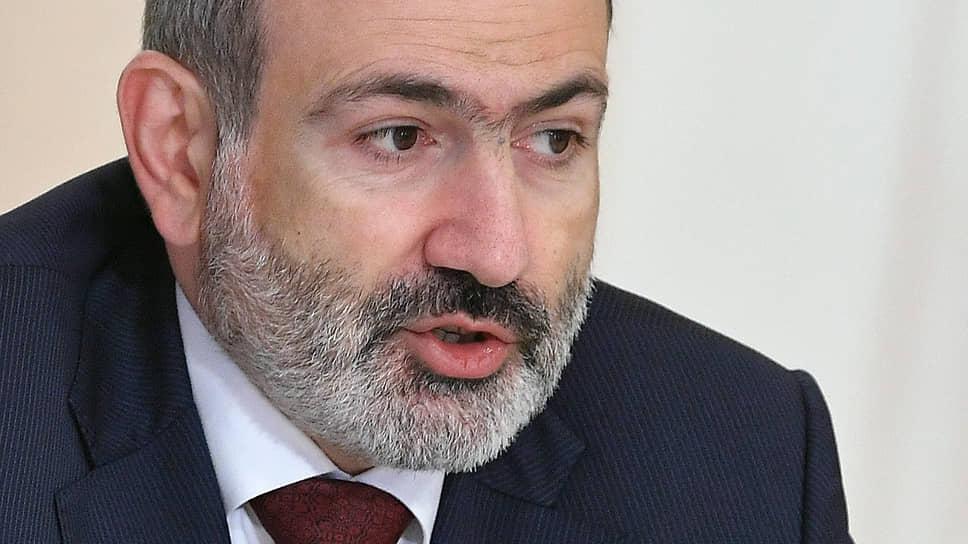 И. о. премьера Армении Никол Пашинян