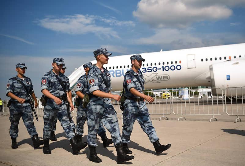 МАКС-2021 будет идти с 20 по 25 июля  <br>Дальнемагистральный широкофюзеляжный пассажирский самолет Airbus A350-1000
