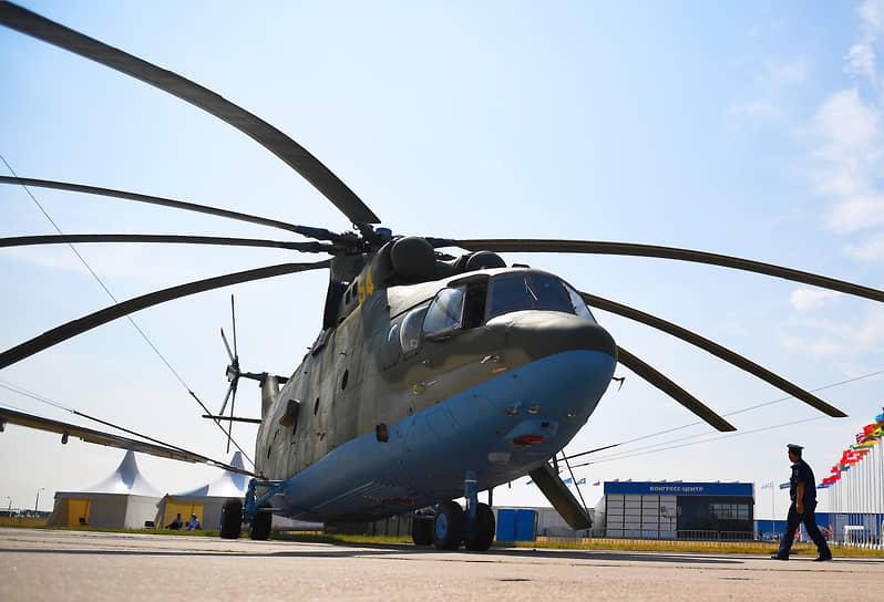 Тяжелый многоцелевой транспортный вертолет Ми-26