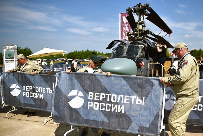Боевой разведывательно-ударный вертолет палубного базирования Ка-52К