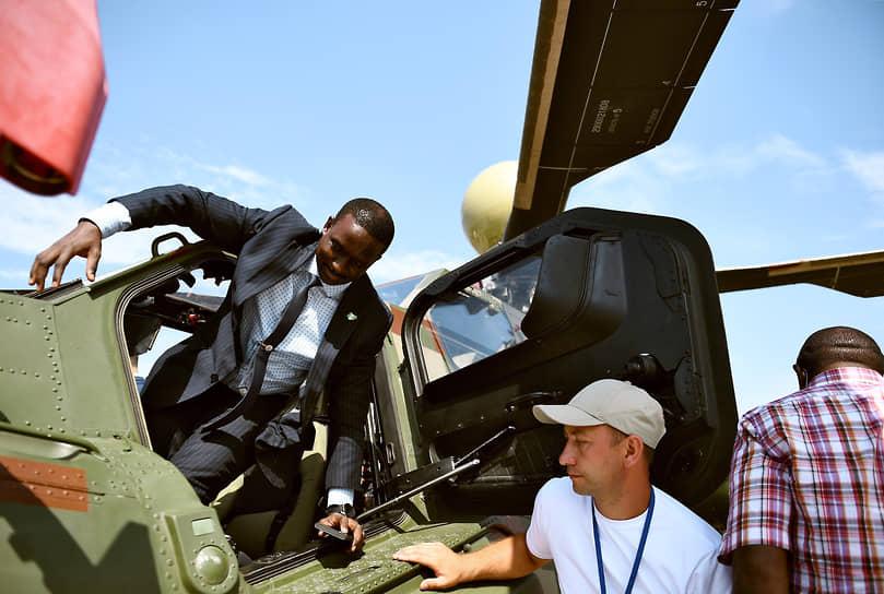 Учебная модификация ударного вертолета Ми-28Н