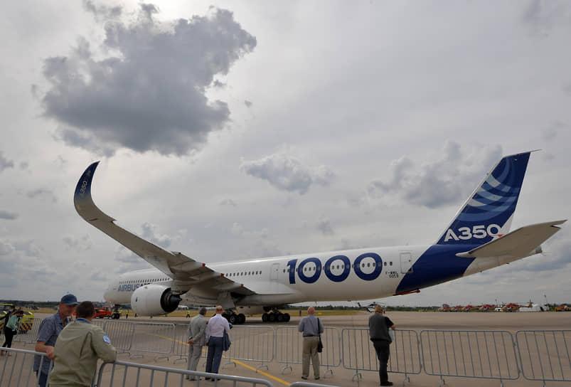 Дальнемагистральный широкофюзеляжный пассажирский самолет Airbus A350-1000