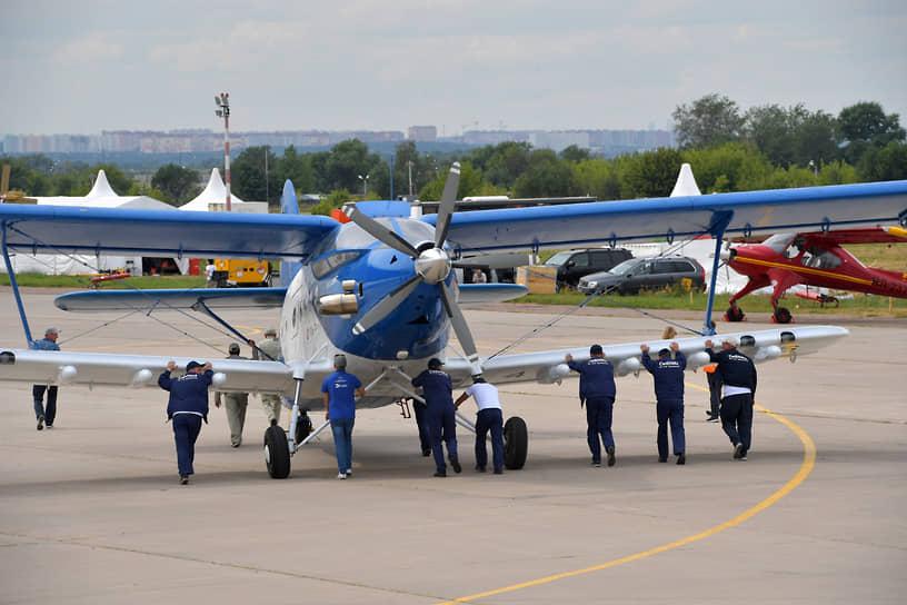 Многоцелевой легкий самолет ТВС-2МС