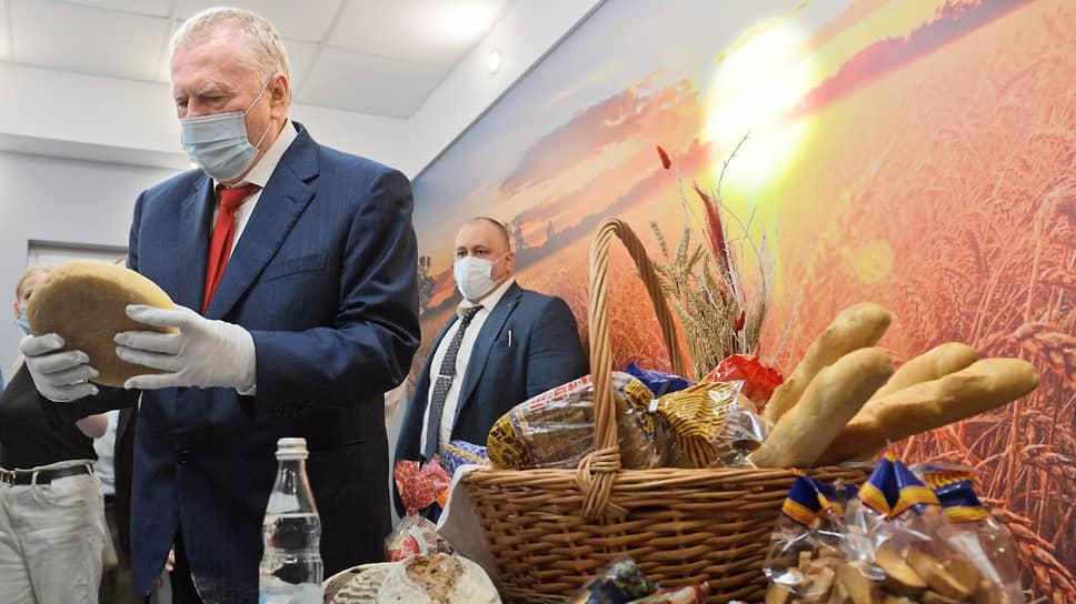 Лидер ЛДПР съездил во Владимир за хлебом