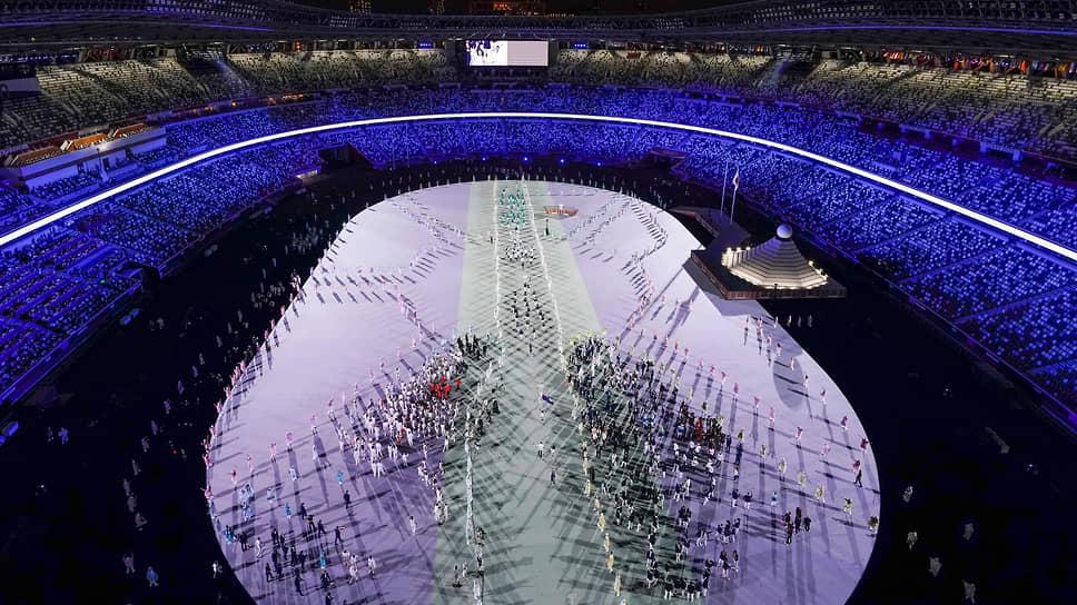 Хронометраж парада спортсменов во время церемонии увеличили на полчаса из-за необходимости соблюдения социальной дистанции