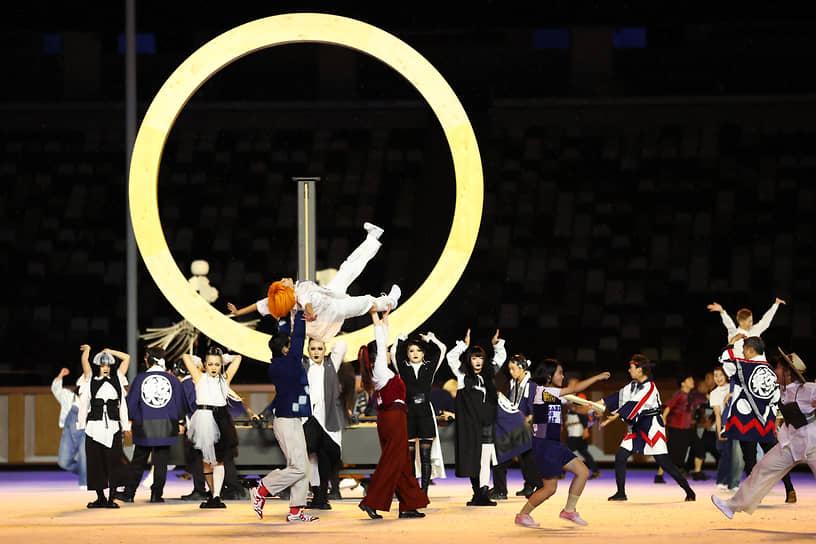 Шоу-программа церемонии открытия Олимпиады