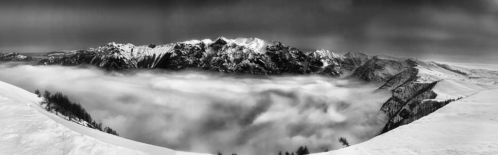 Габриэле Родрикес, Италия. Над облаками. 1-место в номинации «Панорама»