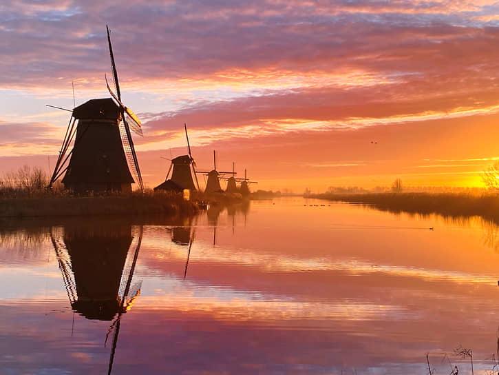 Клэр Дропперт, Нидерланды. Голландское утро. 1-место в номинации «Закат»