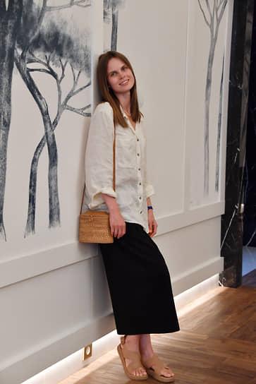 Актриса Александра Ревенко на премьере фильма «Я создан для тебя»
