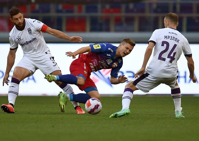 Матч между ЦСКА и «Уфой»