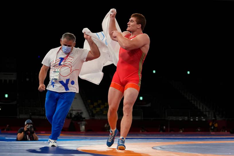 Золото. Муса Евлоев. Греко-римская борьба, весовая категория до 97 кг