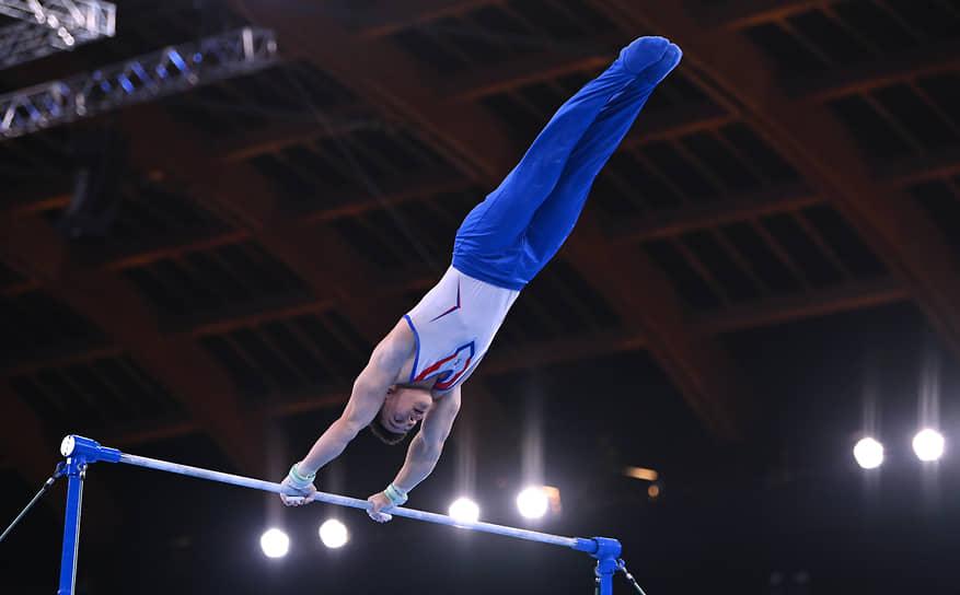 Бронза. Никита Нагорный. Спортивная гимнастика, личное многоборье