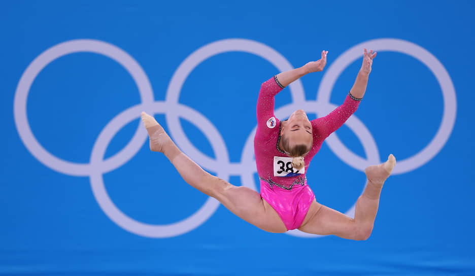 Бронза. Ангелина Мельникова. Спортивная гимнастика, личное многоборье