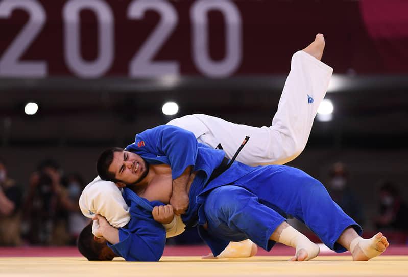 Бронза. Тамерлан Башаев (справа). Дзюдо, весовая категория свыше 100 кг