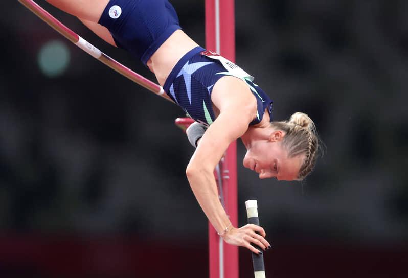Серебро. Анжелика Сидорова. Легкая атлетика, прыжки с шестом