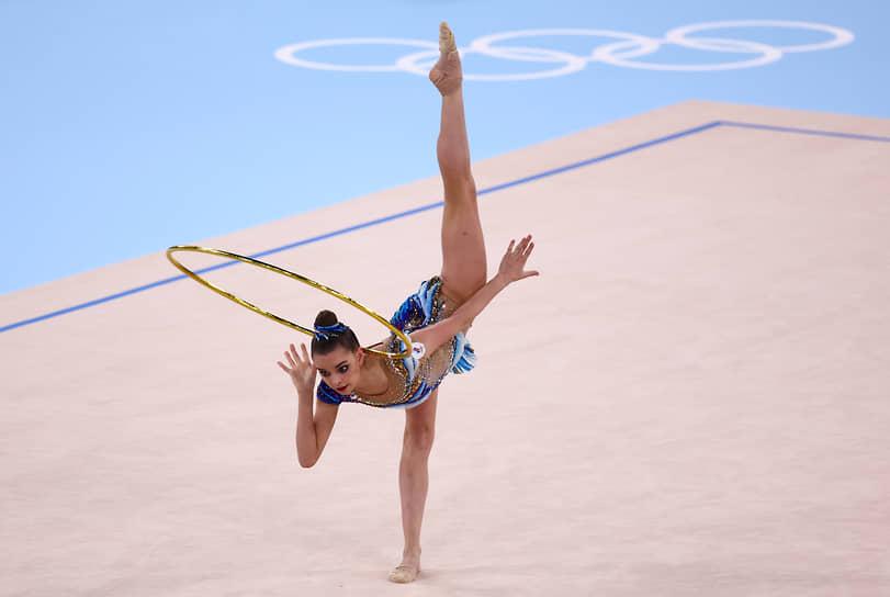 Серебро. Дина Аверина. Художественная гимнастика, многоборье