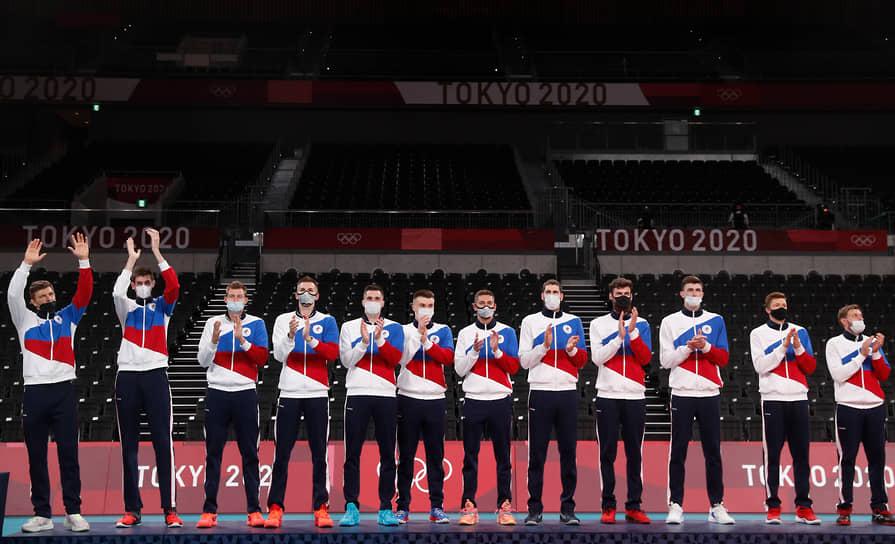 Серебро. Мужская сборная России по волейболу