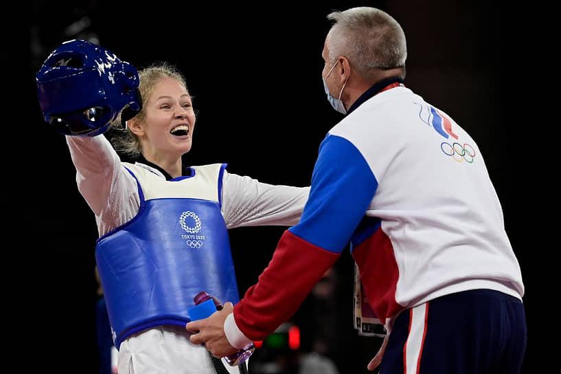 Серебро. Татьяна Минина. Тхэквондо, до 57 кг
