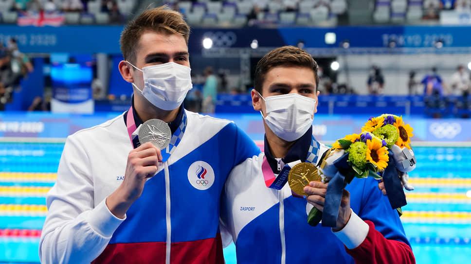 Евгений Рылов (справа) и Климент Колесников