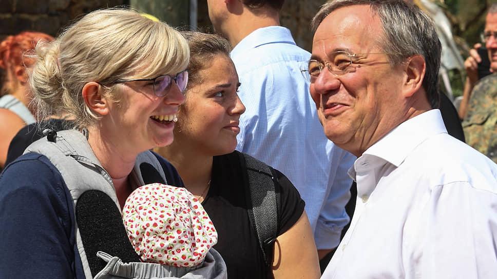 Лидер Христианско-демократического союза (ХДС) Армин Лашет