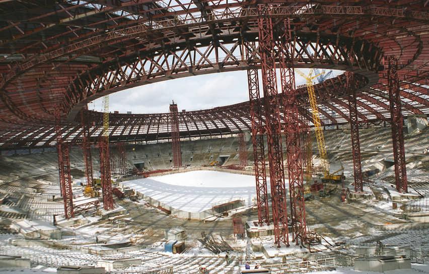 Реконструкция Большой спортивной арены стадиона