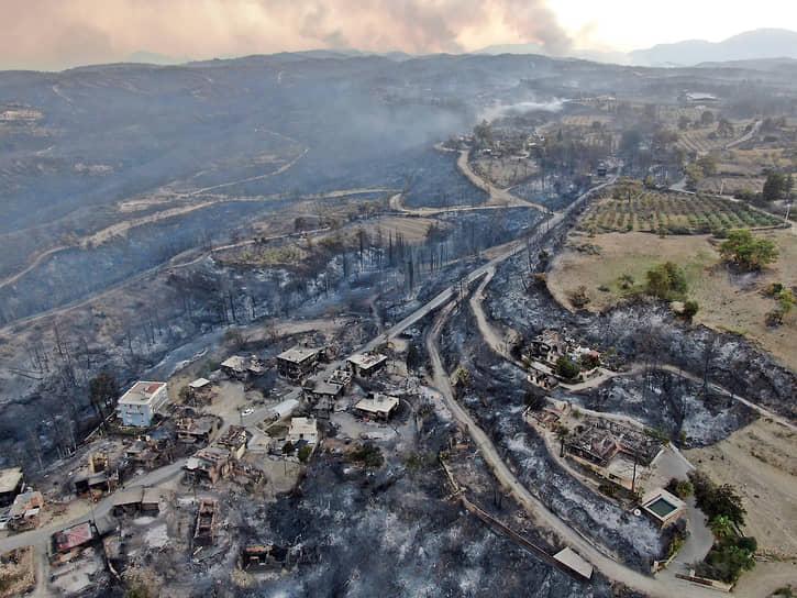 Власти Турции с 31 июля начнут производить выплаты пострадавшим от лесных пожаров