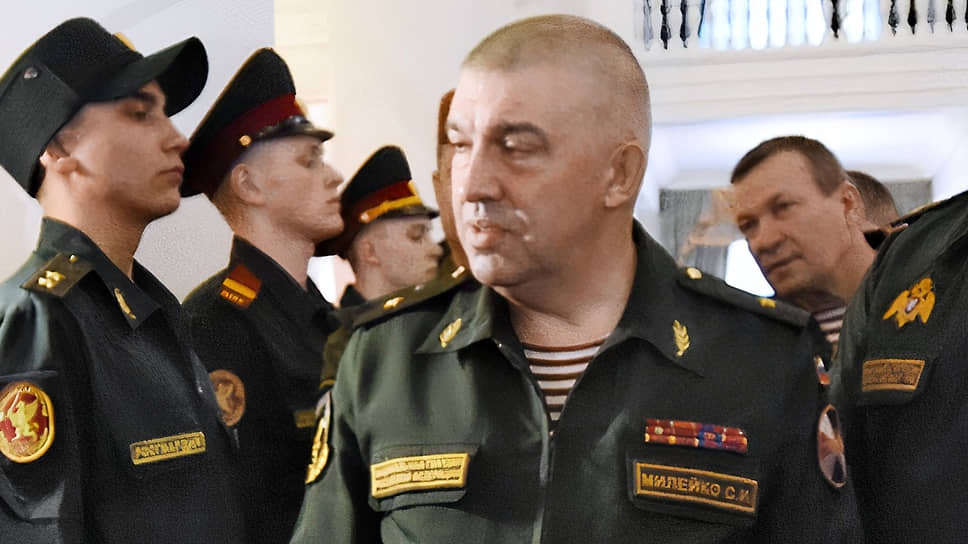 Бывший главный тыловик Росгвардии Сергея Милейко