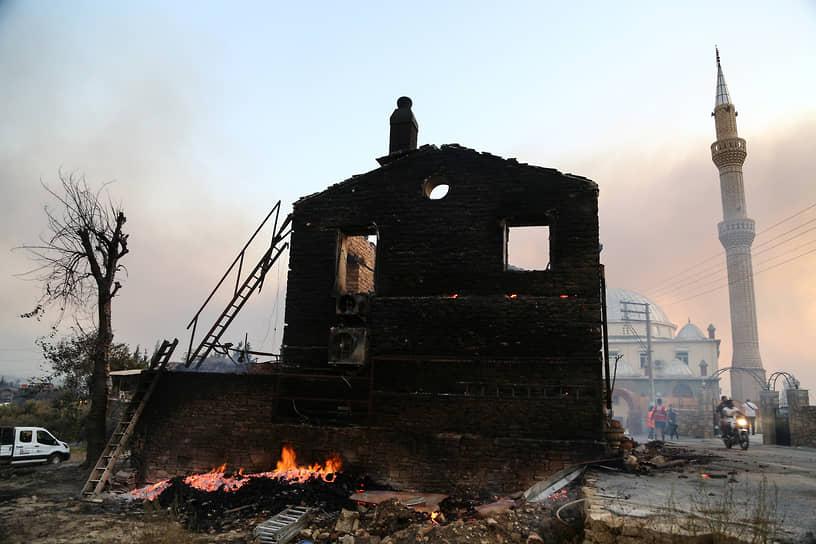 29 июля возгорания были также зафиксированы в районе Бодрума в провинции Мугла, в провинции Айдын недалеко от Дидима, а также в Адане, Кайсери и Мерсине