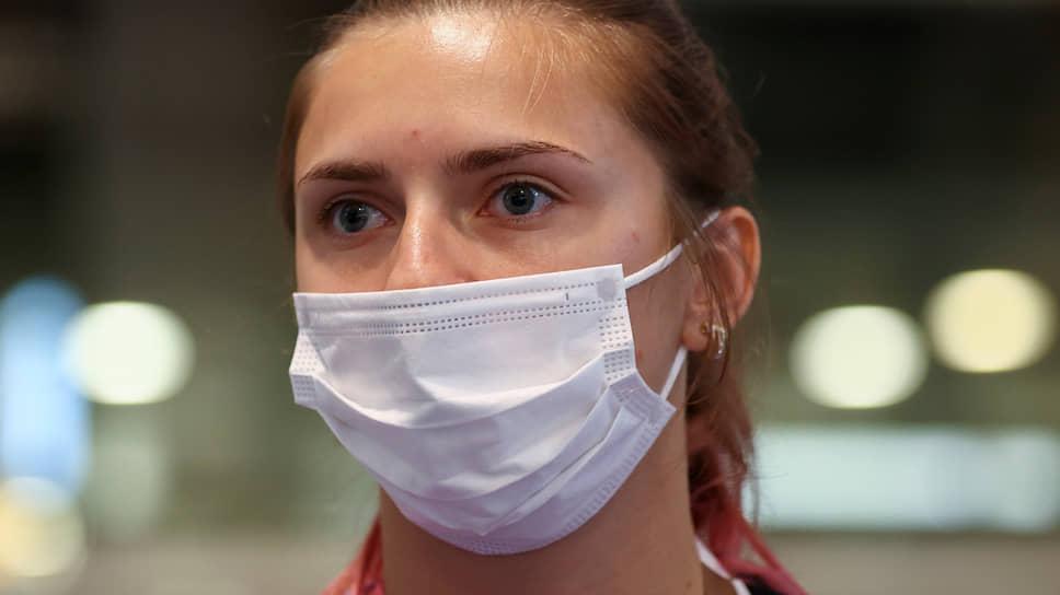 Белорусская легкоатлетка Кристина Тимановская