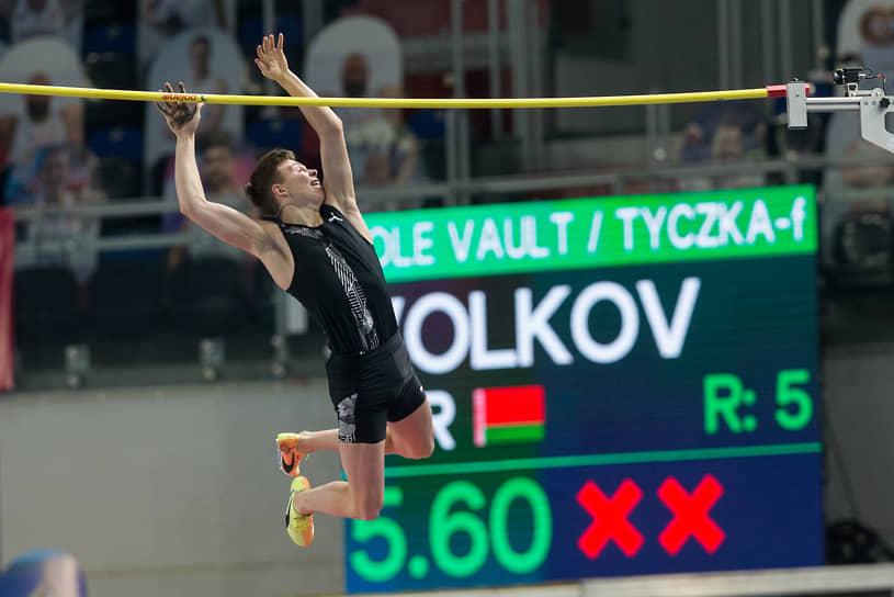<b>Матвей Волков, легкоатлет</b> <br>В 2020 году начал представлять сборную Белоруссии. Выступая за республику, установил мировой рекорд в прыжках с шестом среди юношей не старше 18 лет (5,6 метров)